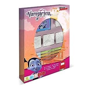 Multiprint Vampirina - Juegos de Sellos para niños (Multicolor, Caucho, Madera, 3 año(s), Italia, 190 mm, 36 mm)