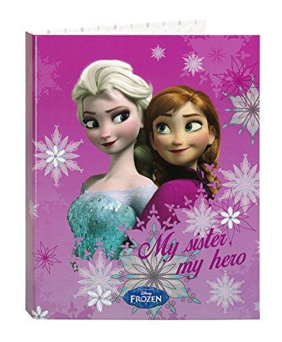 Disney Frozen- Carpeta Folio 4 Anillas Mixtas (SAFTA 511535067)