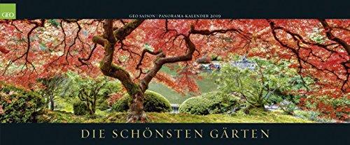 Die schönsten Gärten 2019: Posterkalender GEO