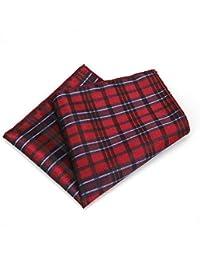 SKYyao Pañuelo de Bolsillo Bolsillo para Hombre Toalla Boda de Negocios Traje Camisa pañuelo pañuelo poliéster