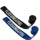 #DoYourFitness Flossband »Flossing4You« / Kompressions- und Widerstandsband zum Umwickeln der Muskeln und Gelenke, in Verschiedenen Stärken (1mm(blau) & 1,5mm(schwarz))