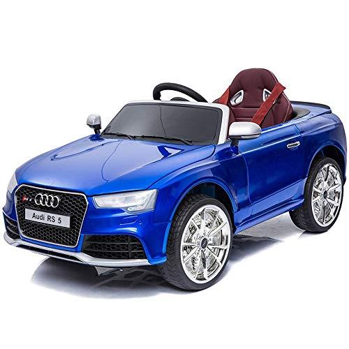 Kikioo Elterliche 2,4 GHz Fernbedienung Roadster Spielzeug elektrische Kinder fahren auf Autos 12 V Batterie Fahrzeuge mit Rädern Federung, Fernbedienung, Musik & Story spielen, bunte Lichter, Sonnens - 4k Toy Story
