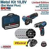 Bosch - Gws 10,8-76 v-ec professional