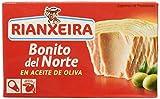 Rianxeira, Conserva de Bonito del Norte en aceite de oliva - 12 latas de 111 gr. (Total: 1332 gr.)