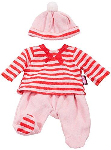 Götz 3402667 Kombination Nautic Kiss - Puppenbekleidung-Set Gr. S - 3-teiliges Bekleidungs- und Zubehörset für Babypuppen von 30 - 33 cm