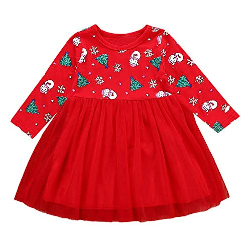 9493c0172 beautyjourney Vestido de Princesa de Manga Larga para Niña, Vestidos ...