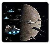 Gaming Maus Pad, extra großes Maus Matte 32,7x 28x 0,4cm, anpassen Star Wars Sith Lords Eco Naturkautschuk mit einer länglichen Mousepad Computer-Schreibtisch Stationery Zubehör Maus Pads für Geschenk