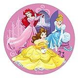 Generique - Disque en Azyme Princesses Disney 20 cm