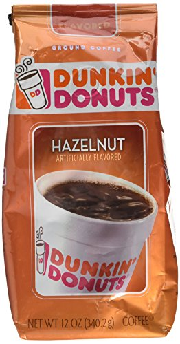 Dunkin' Donuts Ground Coffee – Hazelnut (340.2g) 51hF0FO9AeL
