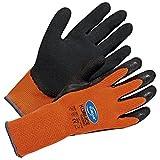 Winterhandschuhe Arbeitshandschuhe Kori-Ice Thermo - Größe 8 - orange/schwarz