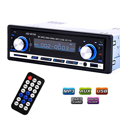 Yukong-Bluetooth-Auto-Stereo-Audio-In-Dash-FM-Aux-Input-Empfnger-SD-USB-MP3-Radio-DC-12V-24V-Bluetooth-Car-Stereo-Audio-FM-Aux-Input-Receiver-SD-USB-MP3-Radio