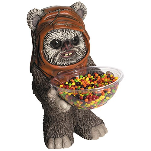 Holder Ewok/Süßigkeitenhalter aus Kunststoff ()