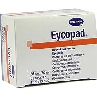 EYCOPAD Augenkompressen 56x70 mm unsteril 5 St Kompressen preisvergleich bei billige-tabletten.eu