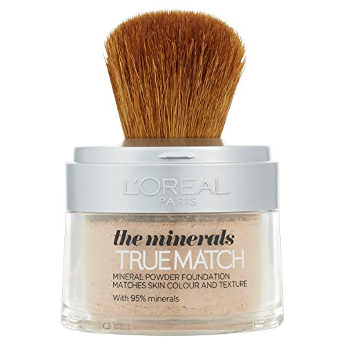 L'Oreal Paris True Match Minerals Foundation 4.W Golden Natural 10g