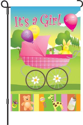 Premier 51475Garten Brilliance Flagge, Rock-a-Bye Baby Mädchen, 12von 18