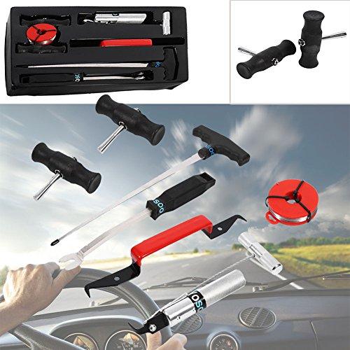 Windschutzscheiben Werkzeug Autoglas 7tlg Reparatur Set Scheibeausbau Auto (Bond Entfernung)