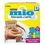 Nestle Merenda al Latte e Cacao - 4 Vaschette x 100 gr