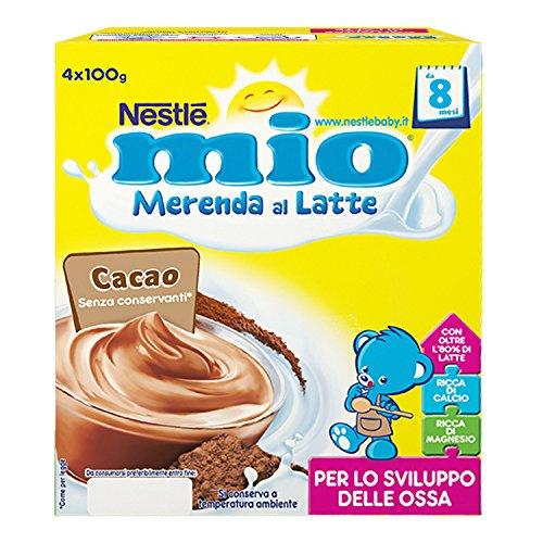 Mix di frutta, cereali e yogurt per neonati