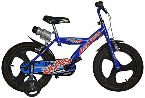 """Dino Bikes 163 GLN 13DB Bicicletta, 16"""" , blu"""