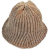 Gorros Gorro De Sombreros Gorras Calentar Cálido Unisex Beanie Sombrero Pescador De Mujer Otoño E Invierno Retro Lindo Sombrero ZHANGGUOHUA (Color : Brown)