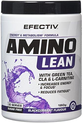 Efectiv Sports Nutrition Amino Lean Shakes, 180 g, Blackcurrant