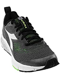 Diadora Men's Kuruka 2 Jet Black/Green Fluo Athletic Shoe