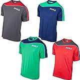 Joola T-Shirt Senta, Grau/Rot, L