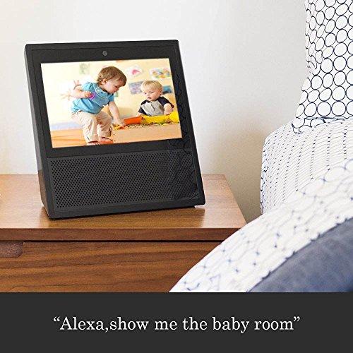 NetvueTelecamera-di-sicurezza-IP-WiFi-Full-HD-720p-con-allarme-di-rilevazione-di-movimento-zoom-digitale-4x-visione-notturna-e-audio-bidirezionale-P2P-bianco