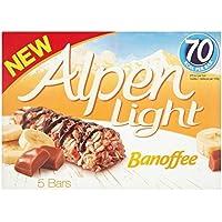 Alpen Bares Banoffee De Luz 5 X 19g