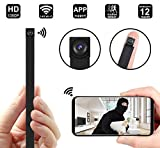 Spy Hidden Camera WiFi 1080P Wireless Mini Camera Jiamus Security Camera for Home Video Recorder (for iPhone/Android Phone/iPad/PC)