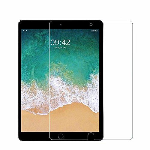 iPad Pro 10,5Displayschutzfolie aus gehärtetem Glas mit Kristall klar Anhänger (mit Displayschutzfolie für iPad Pro 10,5, anti-sharp, hoch, 9H Härte (Kristall 2-licht-anhänger)