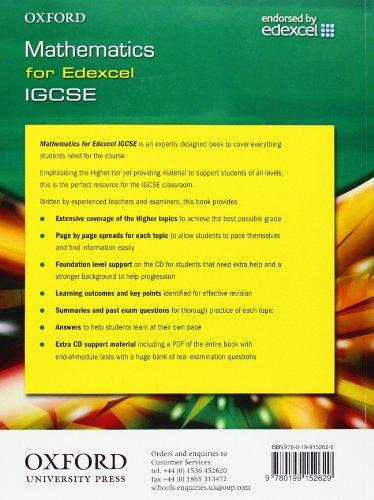 Edexcel Maths for IGCSE® (with CD)