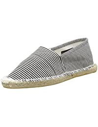 Pieces Haisha Stripe New, Espadrilles femme