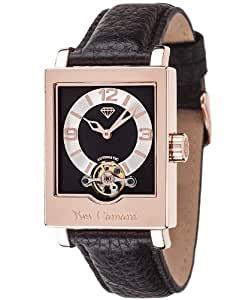 Yves Camani Damen-Armbanduhr Analog Automatik YC1053-C