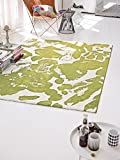 ESPRIT Espirit Invigorating Brands Rug, in a timeless design with Bright Colors, Energize, green/white, 120 x 170 cm