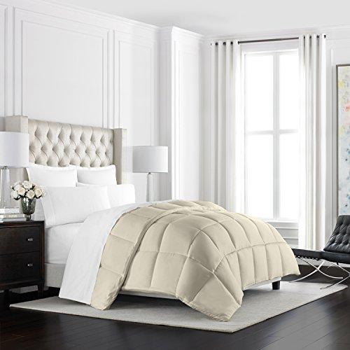 Beckham Hotel Collection-heavyweight- Luxus Gänsedaunen Alternative Tröster-Hotel Qualität Tröster und hypoallergen, elfenbeinfarben, Twin/Twin XL -