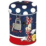 Maxi & Mini-Minnie Mouse Chic Spardose aus Metall mit Verschluss Hat Vorhängeschloss-Idee Geschenk