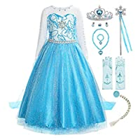 ReliBeauty Little Girls Princess Fancy Dress Costume RB-G8181B