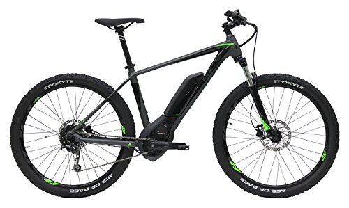Bulls E-Mountainbike 27.5 Zoll grau SIX50 E1 CX E-Bike - Bosch Motor, Akku 500Wh, 9 Gänge