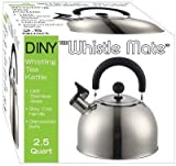 Stainless Steel Whistling Kettle 2.5qt/2.37l Hot Water Tea Stovetop