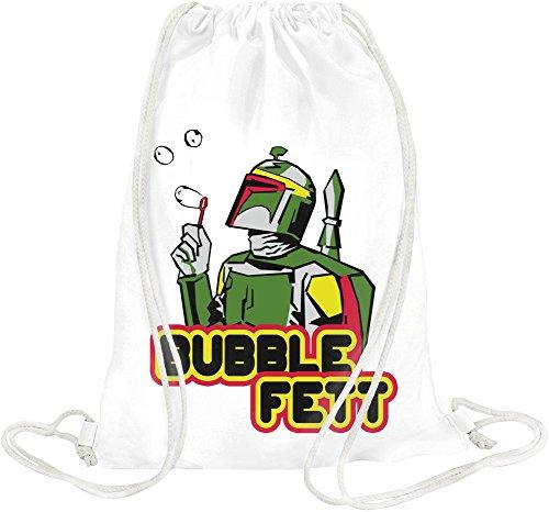 Bubble Fett Drawstring bag