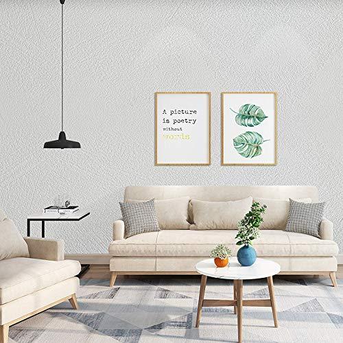 Selbstklebende tapete wasserdicht einfarbig aufkleber schlafzimmer wohnzimmer dekoration tapete grau uni wandaufkleber 0,6 mt * 10 mt diatomee schlamm weiß 60 cm - D G Brillengestelle