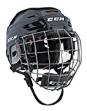 CCM tachuelas 710Hockey casco Combo, negro