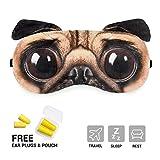 oksano libre de máscara de ojo máscara de dormir con tapones para los oídos máscara dibujo animado Creative 3d diseño de gato Katrina revenaugh dormir máscara parche de hielo pa...