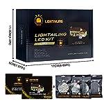 LIGHTAILING-Set-di-Luci-per-La-Casa-dei-Simpsons-Modello-da-Costruire-Kit-Luce-LED-Compatibile-con-Lego-71006-Non-Incluso-nel-Modello