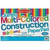 Melissa and Doug Jumbo Construction Pad, Multi Color