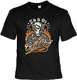 Griller Tshirt Motiv Sprüche Shirt - Griller Partyshirt : BBQ Grill Chef -- Bekleidung Grillen Grill Zubehör Gr: L
