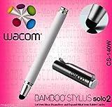 Wacom Bamboo Solo 2Touchscreen Tablet/Smartphone Digital Stylus weiß