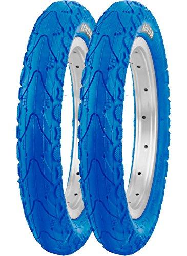 Kenda 2er Set 12'' K-935 Drahtreifen blau 12 1/2 x 2 1/4 62-203 (Drahtreifen-set)