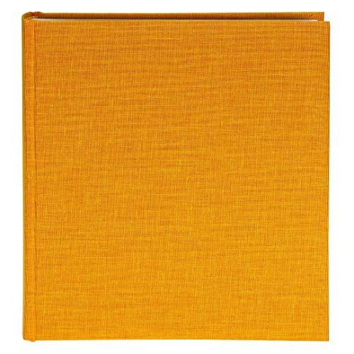 Goldbuch Fotoalbum, Summertime, 30 x 31 cm, 100 weiße Seiten mit Pergamin-Trennblättern, Leinen, Gelb, 31705 -